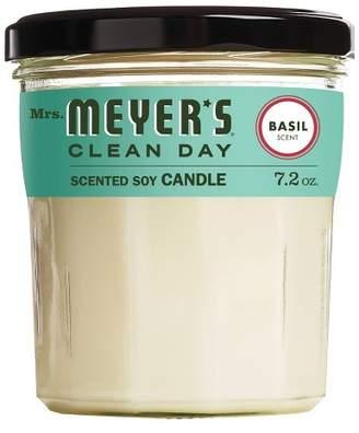Mrs. Meyer's Basil Large Jar Candle - 7.2oz