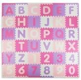 Tadpoles ABC 60-Piece Play Mat in Pink/Purple
