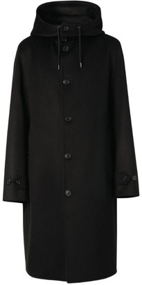 Burberry Cashmere Hooded Coat