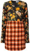 MSGM patchwork dress