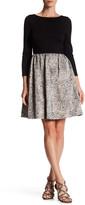 ERIN erin fetherston Polly 3/4 Length Sleeve Dress