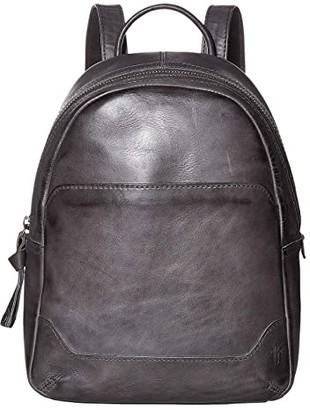Frye Melissa Medium Backpack (Carbon) Backpack Bags