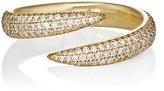 Eva Fehren Women's Pavé Wrap Claw Ring-GOLD