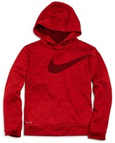 Nike Boys' Swoosh Pullover Hoodie - Little Kid