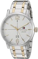 Tommy Hilfiger Men's 1791214 George Analog Display Japanese Quartz Silver Watch