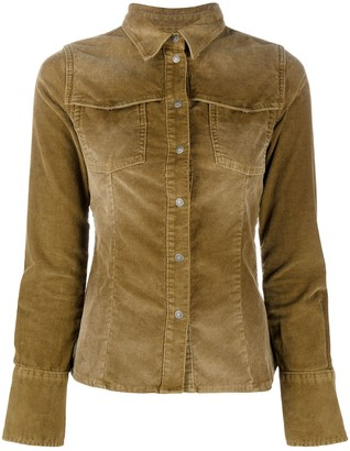 Diesel Button-Up Corduroy Shirt
