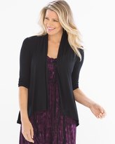 Soma Intimates Soft Jersey 3/4 Sleeve Open Wrap