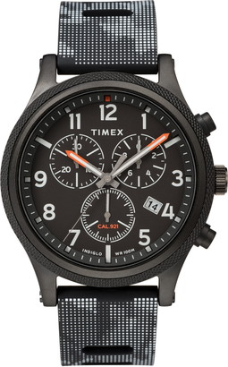 Timex ARCHIVE Allied Chronograph Silicone Strap Watch, 42mm