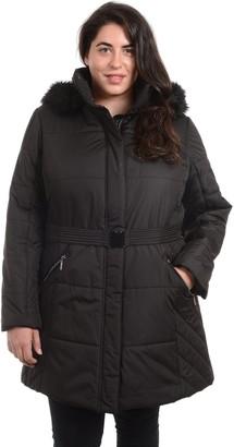 Fleet Street Plus Size Hooded Puffer Jacket