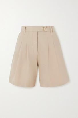 ANNA QUAN - Oscar Twill Shorts - Sand