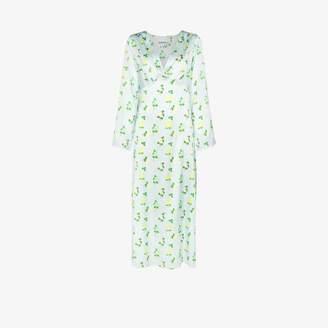 BERNADETTE Sarah floral print silk dress