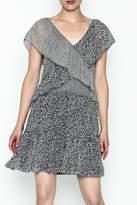 Derek Lam 10 Crosby Cross Ruffle Dress