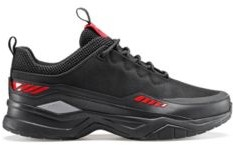 HUGO BOSS Chunky trainers with mesh uppers and leather facings