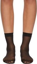 Wolford Black Individual 10 Socks