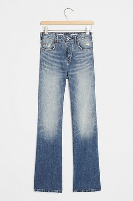 Pilcro And The Letterpress Pilcro Ultra High-Rise Slim Bootcut Jeans