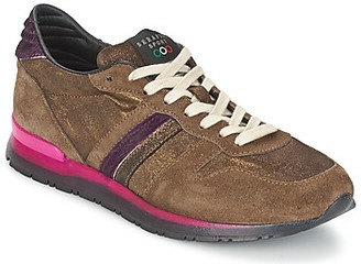 Serafini LOS ANGELES women's Shoes (Trainers) in Brown
