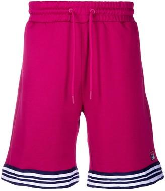 Fila Striped Trim Track Shorts