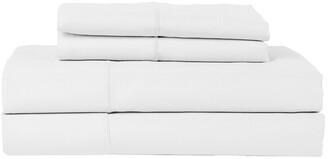 Hotel Luxury Concepts 500Tc Solid Sateen 4Pc Sheet Set