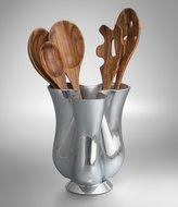 Nambe Tulip Tool Jug with Wood Tool Set