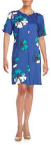Vince Camuto Hibiscus Blooms Shift Dress