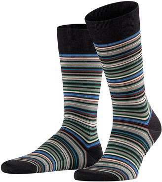Falke Men's Micro-Block Striped Socks