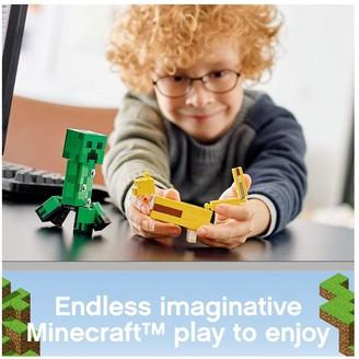 Lego 21156 BigFig Creeper and Ocelot Figures