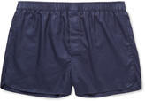 Derek Rose - Lombard Cotton-jacquard Boxer Shorts