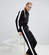 Monki Two-Piece Side Stripe Wide Leg sweatpants