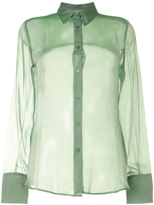 Georgia Alice Chiffon Slim Shirt