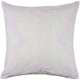 The Piper Collection Elle 22x22 Pillow - Lilac Velvet