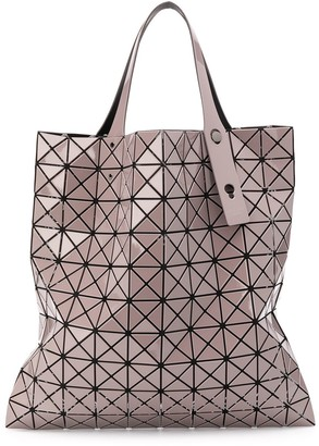 Bao Bao Issey Miyake Lucent geometric-panel tote