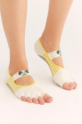 Toesox Mia Palmier Grip Socks