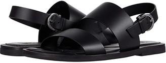 Salvatore Ferragamo Sirius Sandal (Black) Men's Shoes