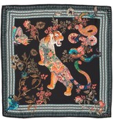 Etro Women's Tiger Print Silk Scarf
