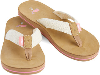 Vineyard Vines Womens Braided Flip Flops