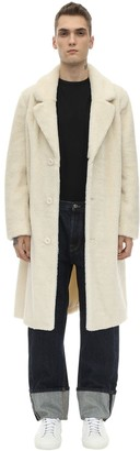 Stand Faux Fur Coat