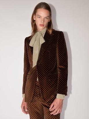 Gucci Lvr Exclusive Velvet Jacket