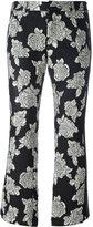 Faith Connexion cropped jacquard trousers