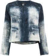 Avant Toi cropped jacket - women - Linen/Flax - M