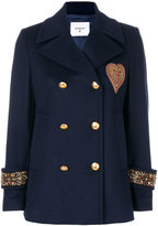 Dondup appliqué military jacket - women - Acetate/Viscose/Cashmere/Virgin Wool - 40