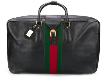 Gucci Pre Owned 1960s Sylvie Web travel bag