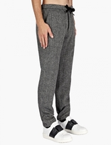 Valentino Herringbone Pattern Wool Trousers