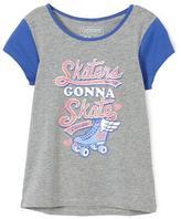 Cherokee Girls' Skaters Gonna Skate Graphic T-Shirt
