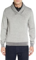 Nordstrom Plaited Shawl Collar Sweater