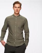 Oxford Grandad Slim Shirt
