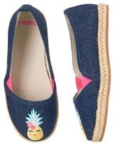Gymboree Pineapple Espadrille