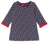 Petit Bateau Baby girls printed tube knit dress