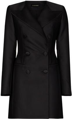 Rasario V-neck blazer mini dress
