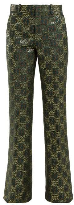 6738207d8 Gucci Green Women's Pants - ShopStyle