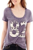 Arizona Short-Sleeve Americana Burnout T-Shirt